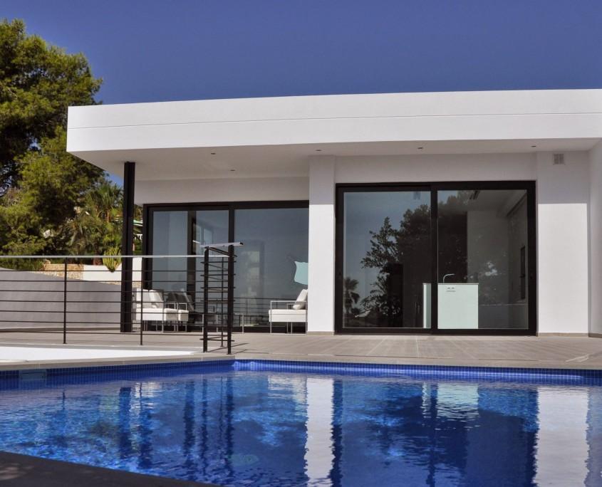 Proyecto Vivienda Valencia - alzado este vivienda benissa