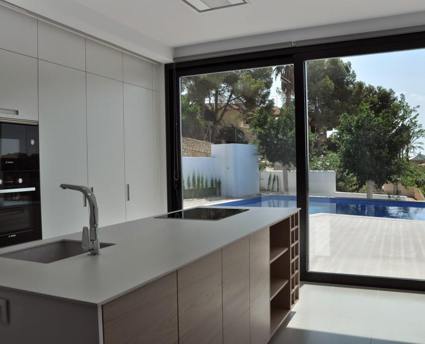 cocina vivienda benissa - LinkeHome Arquitectos