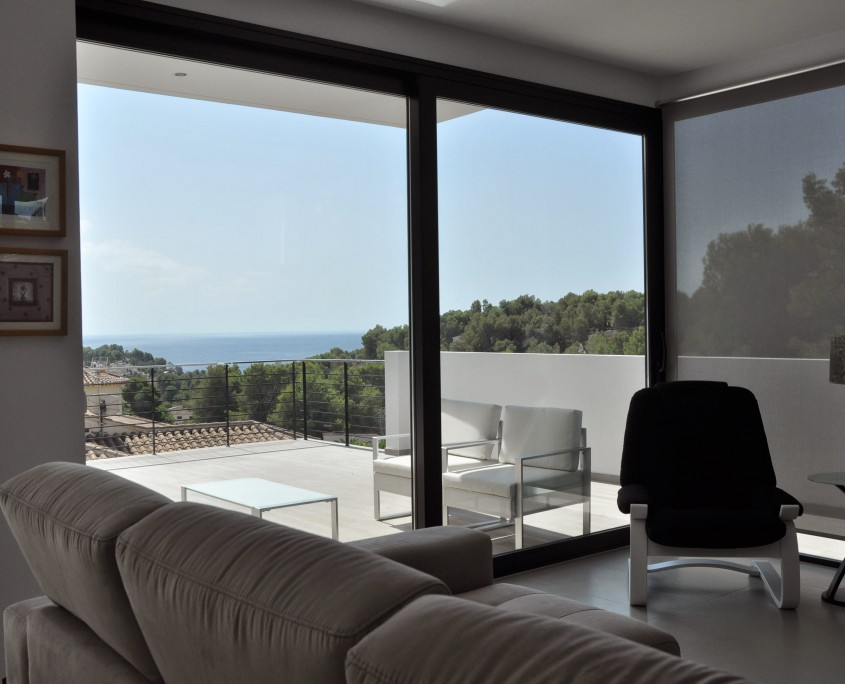 Arquitectos Casas de diseño - interior vivienda benissa