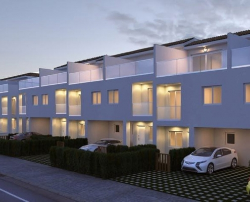Arquitectura viviendas adosadas Javea