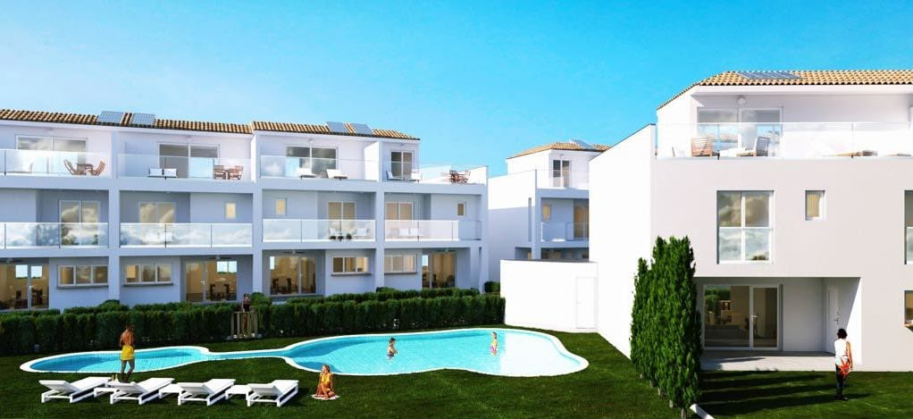 Arquitectura viviendas adosadas Javea 2